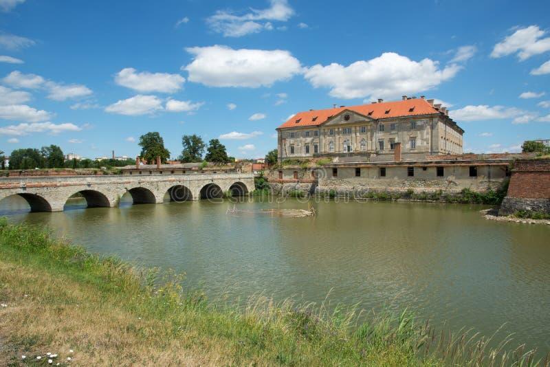 Slott i Holicen, Slovakien royaltyfria foton