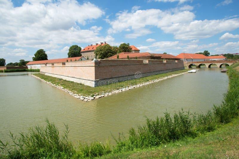Slott i Holicen, Slovakien arkivbild