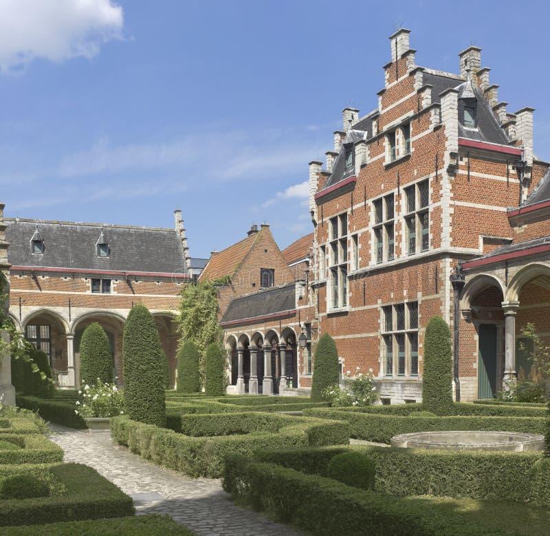 Slott i Mechelen, Belgien arkivbild