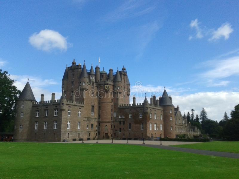 Slott i scotland arkivfoton