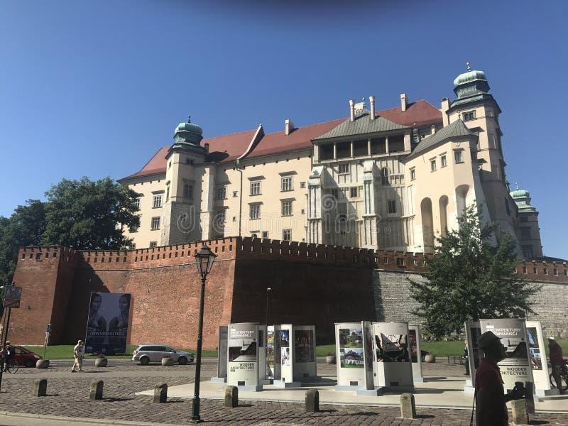 slott krakow fotografering för bildbyråer