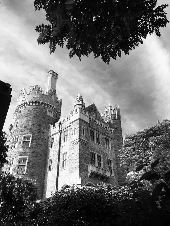 Slott Loma royaltyfria foton
