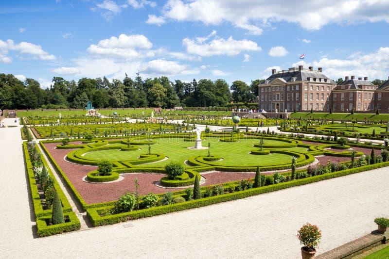 Slott Loo Holland fotografering för bildbyråer