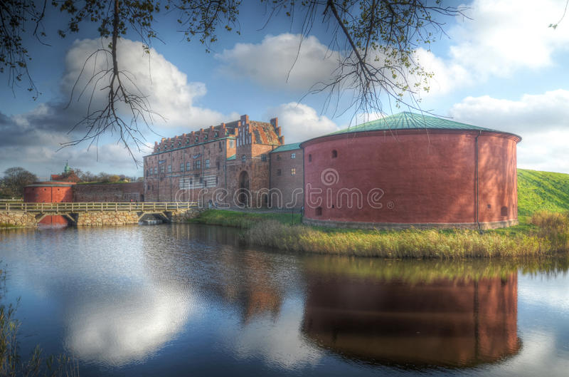 Slott Malmöhus стоковые фотографии rf