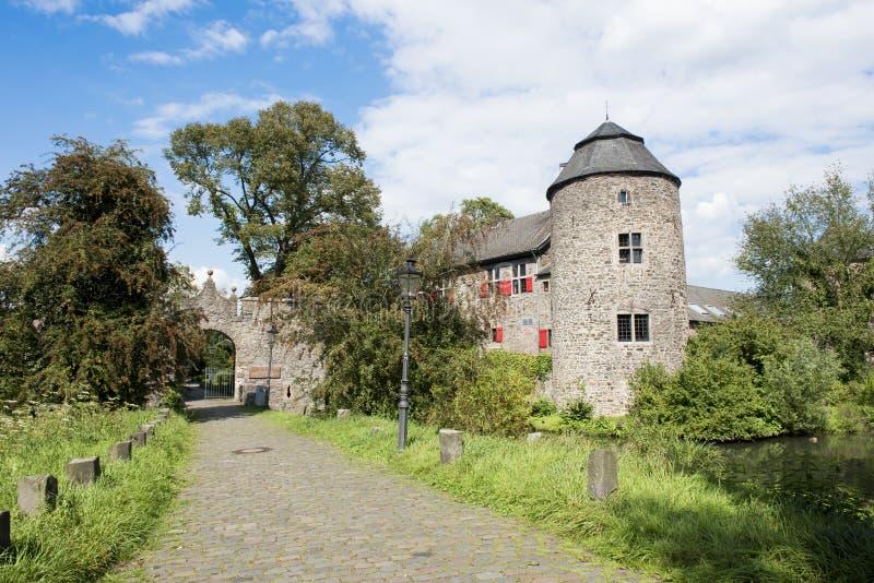 slott medeltida germany royaltyfria bilder