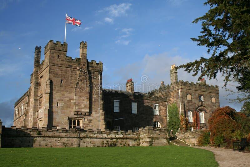 slott nära ripleyripon yorkshire royaltyfria bilder