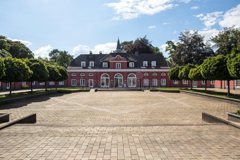 Slott oberhausen Tyskland fotografering för bildbyråer