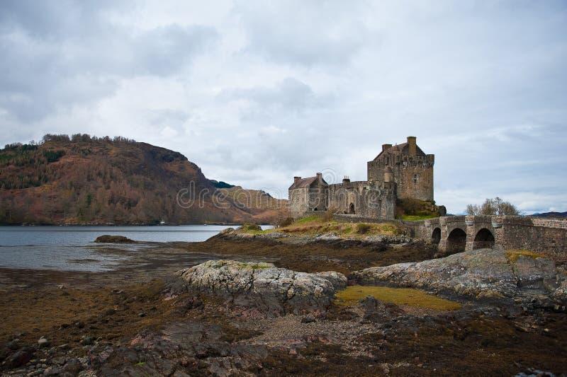 slott scotland arkivfoto