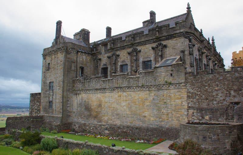 slott scotland stirling royaltyfri foto