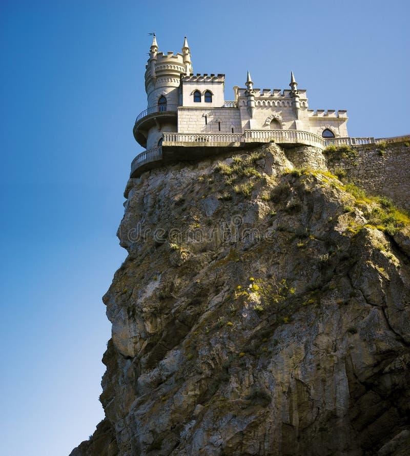 slott som vets nära svalawellen yalta för rede s arkivbild