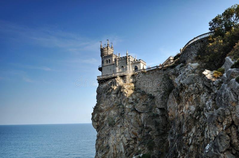 slott som vets nära svalawellen yalta för rede s arkivbilder