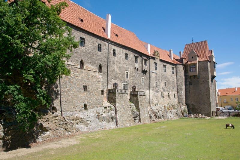 Slott Strakonice, Tjeckien royaltyfri foto