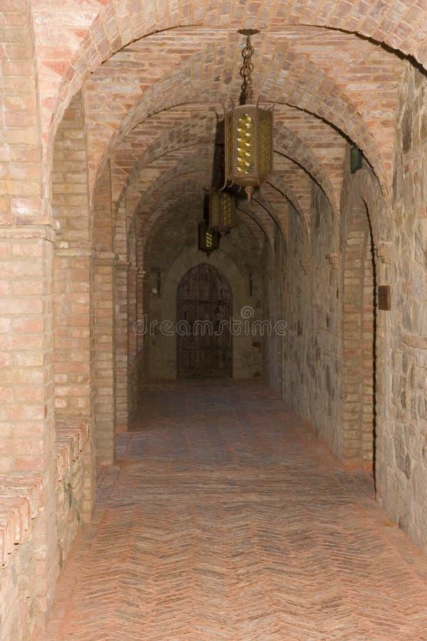 Slott Tuscan Arkivbild