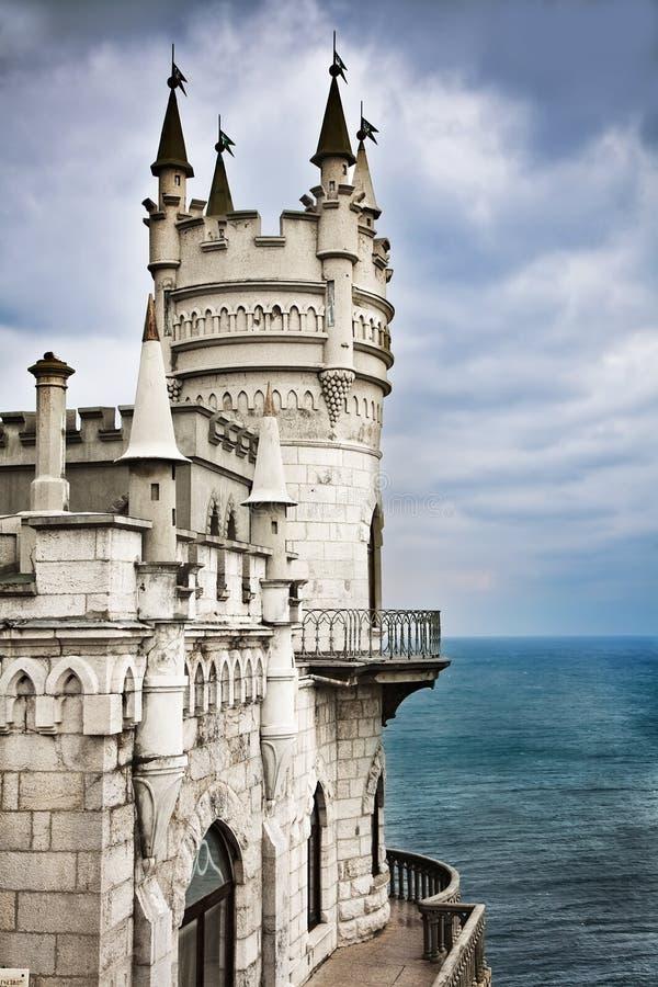slott veten svalawell för rede s royaltyfri foto