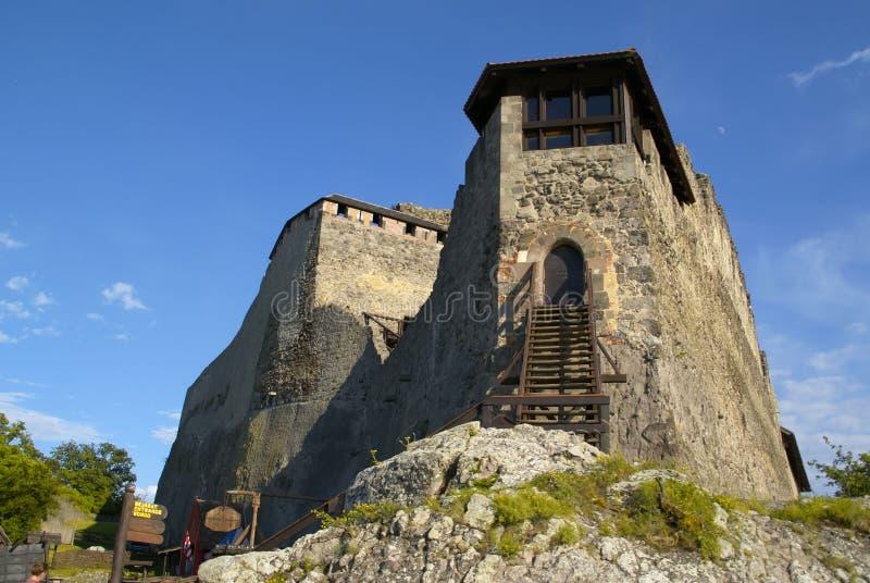 slott visegrad royaltyfri fotografi