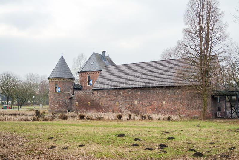 Slott Vondern - Oberhausen - Tyskland royaltyfri bild