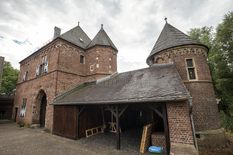 Slott vondern Tyskland arkivfoton
