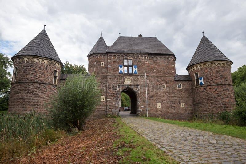 Slott vondern Tyskland royaltyfri fotografi