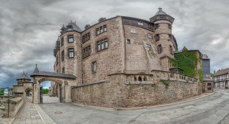 Slott Wernigerode royaltyfri bild