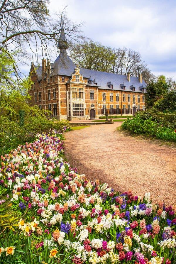Slottar av Belgien - Groot-Bijgaarden fotografering för bildbyråer