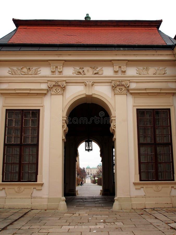 Slottar av Wien royaltyfri foto