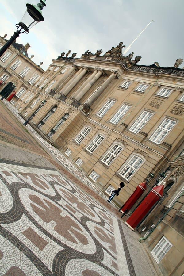 slottcopenhagen drottningar royaltyfria bilder