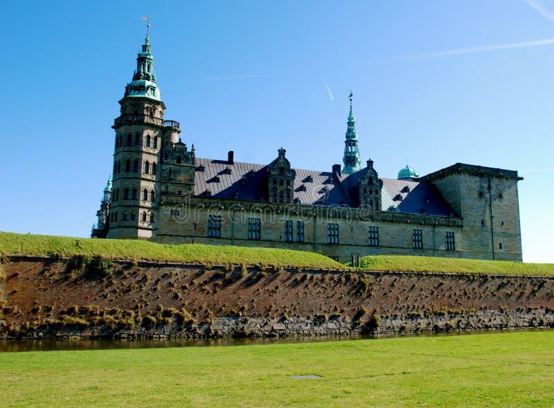 slottdenmark kronberg royaltyfria bilder