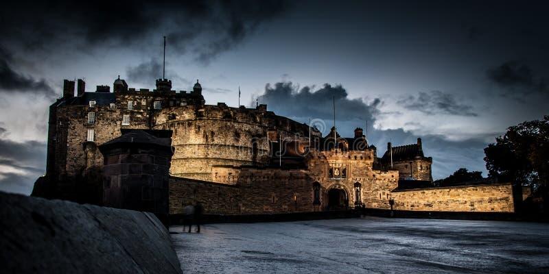 slottedinburgh kungarike förenade scotland arkivbild