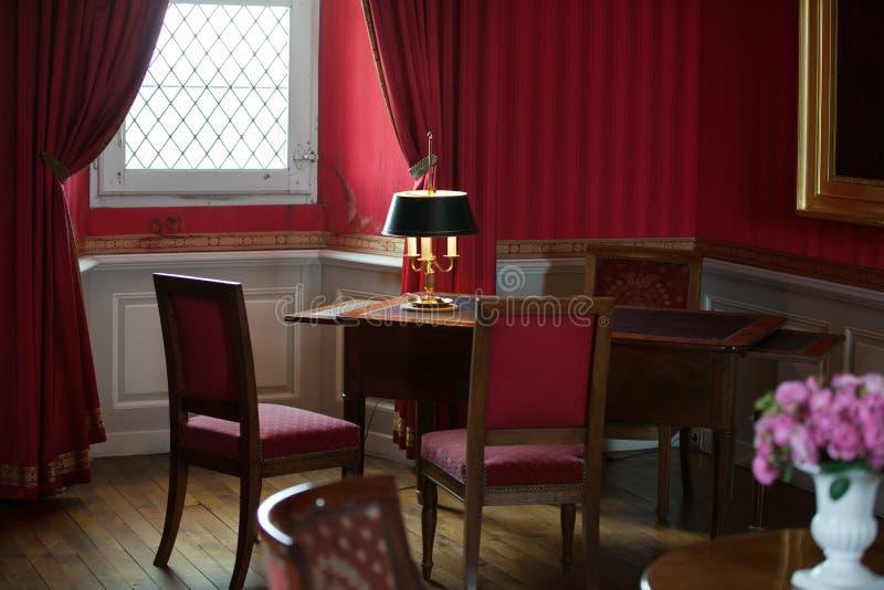 slotten Amboise arkivbilder