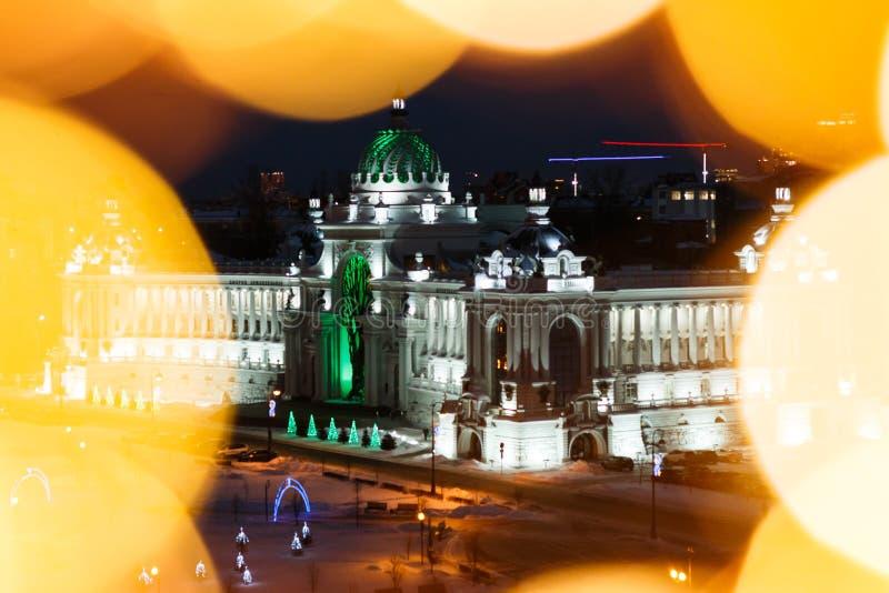 Slotten av åkerbruka Kazan royaltyfri fotografi