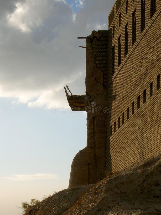 Slotten av Erbil, Irak royaltyfri bild