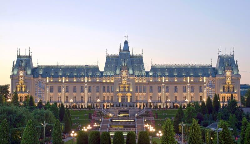 Slotten av kultur, Iasi, Rumänien arkivfoton