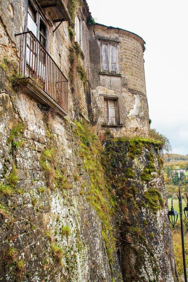 Slotten av Tufo arkivbild