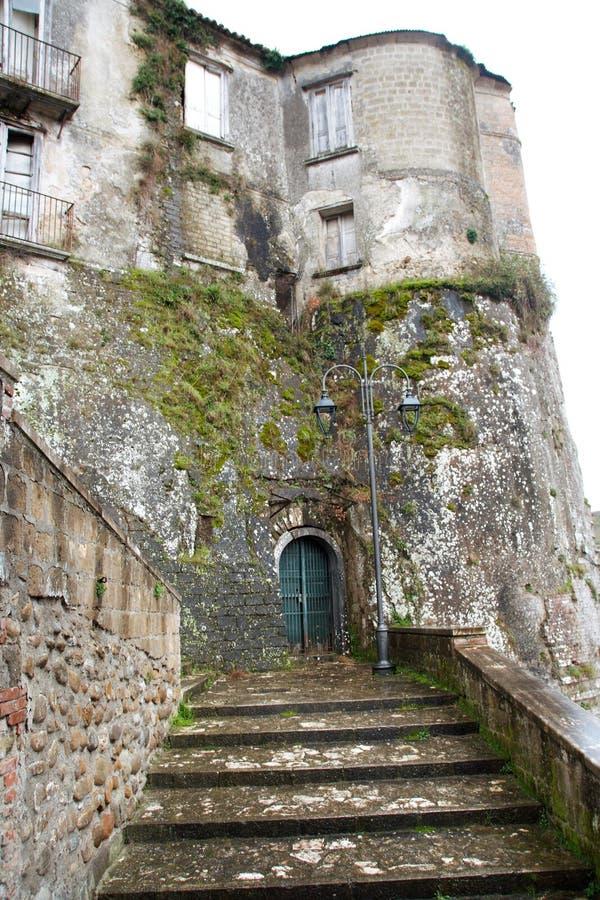 Slotten av Tufo royaltyfria foton