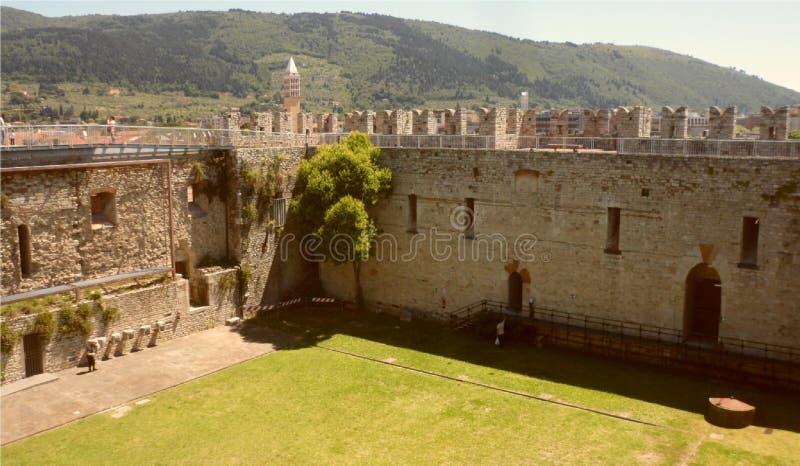 Slotten för kejsare` s av konungen av Frederick II, Prato fotografering för bildbyråer