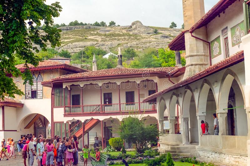 Slotten för Khan ` s i Bakhchisaray royaltyfri foto