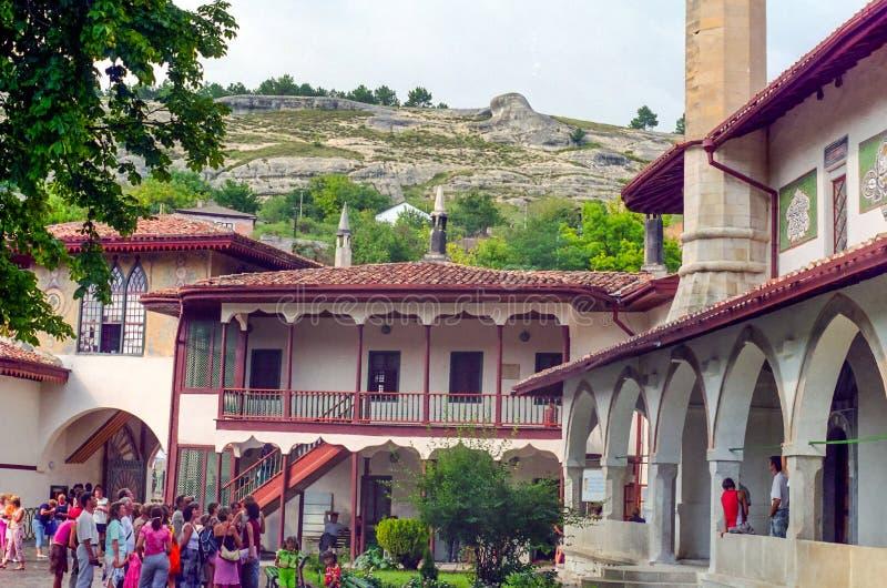 Slotten för Khan ` s i Bakhchisaray fotografering för bildbyråer