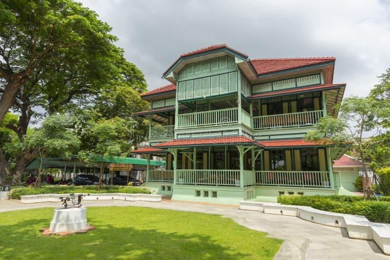 Slotten för konung Narai'sen i Lopburi, Thailand royaltyfri foto