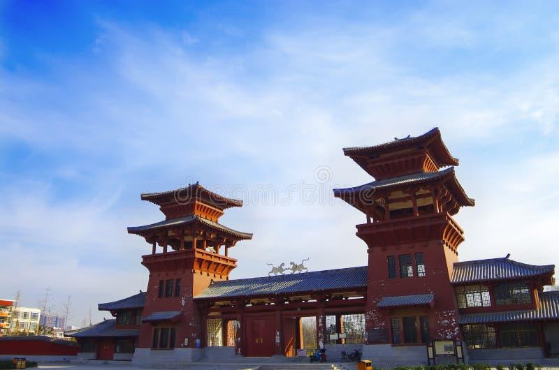 Slotten för qindynasti royaltyfria bilder