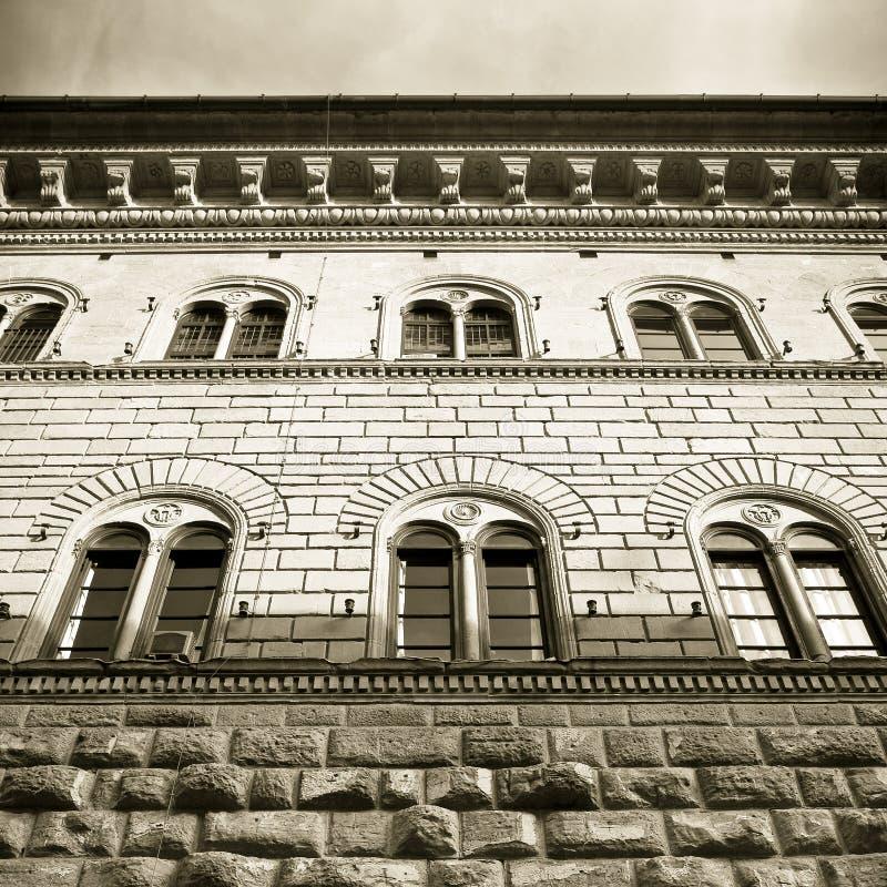 Slotten Italien-Tuscany-Florence för Medici Riccardi ` s royaltyfri foto