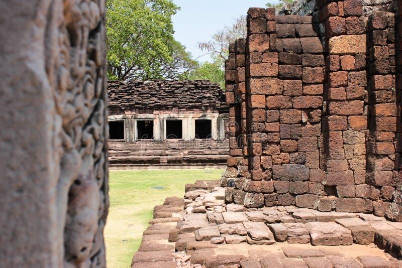 Slotten Vaggar En Khmerkonst. Royaltyfri Fotografi