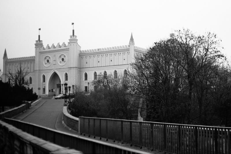 Slottet. royaltyfri fotografi