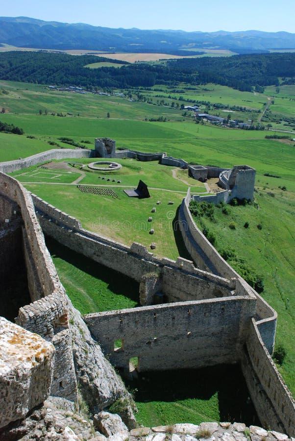 slottet fördärvar spis royaltyfri fotografi