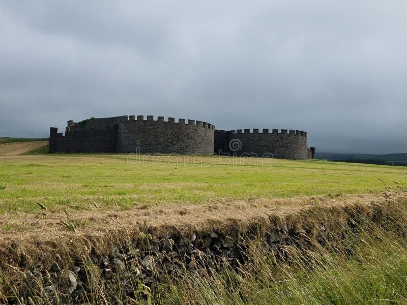 Slottfält royaltyfri bild