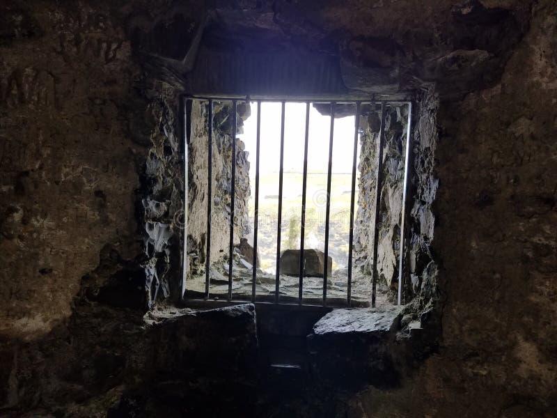 Slottfängelsehåla royaltyfri bild