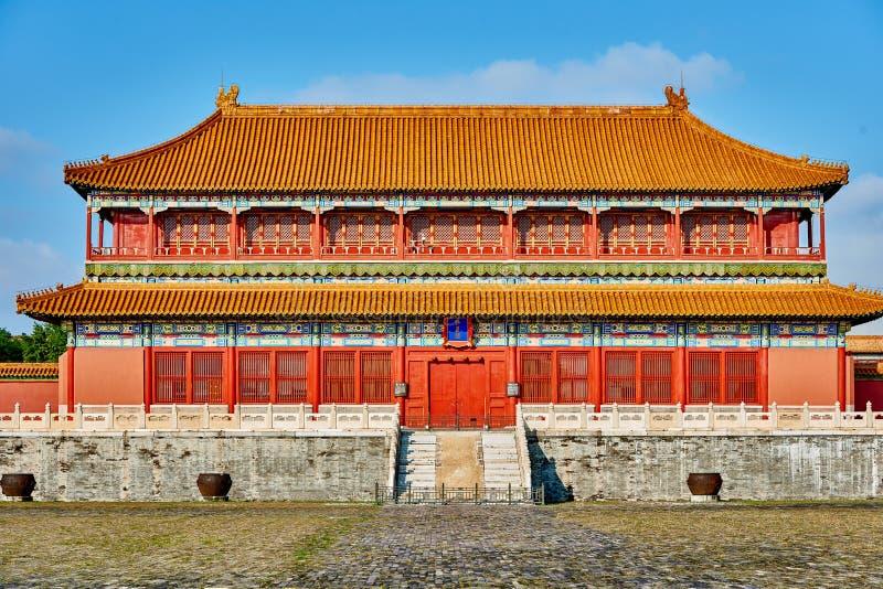 SlottForbidden City för magasin imperialistisk Peking Kina arkivfoton