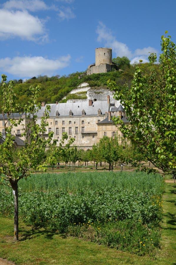slottguyon La Roche royaltyfria bilder