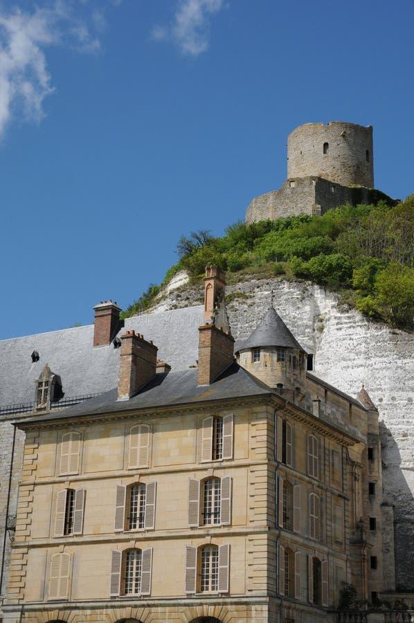slottguyon La Roche royaltyfri fotografi