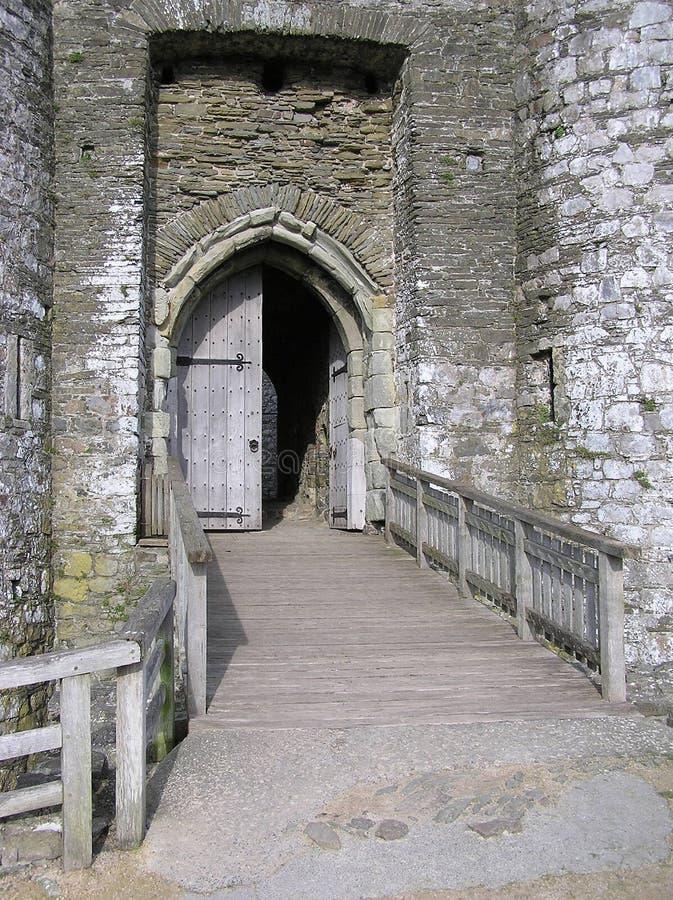 Download Slottingång arkivfoto. Bild av slott, ingång, historiskt - 280612