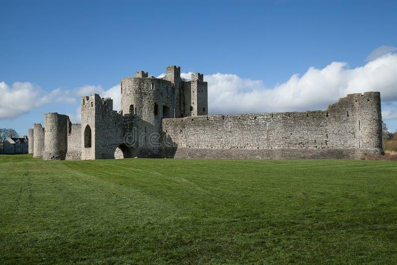 slottireland klippning royaltyfria bilder